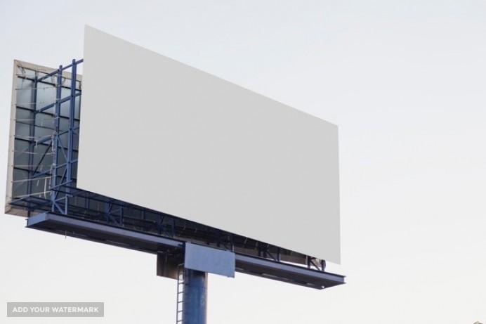 Tablica reklamowa na wynajem
